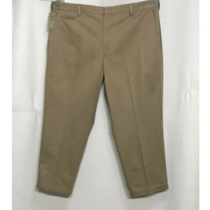 NWT Mens Dockers D4 Relaxed Fit 40 x 27 Tan Beige